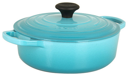 Le Creuset Signature Cast Iron 3.5-Quart Wide French Oven traditional-dutch-ovens