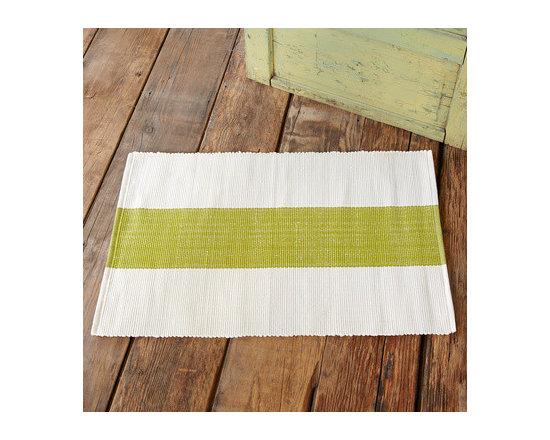 Lakeside Stripe Indoor/Outdoor Mat -