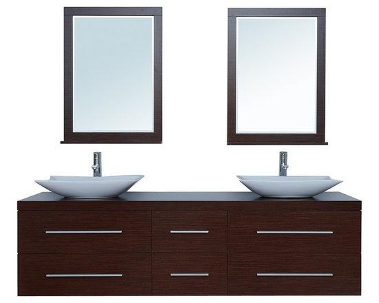 "72"" Calliope Double Sink Vanity - http://www.furnishedup.com/"