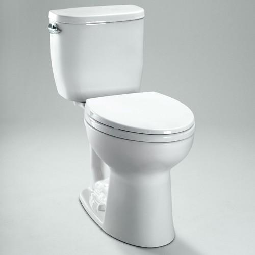 Toto | Entrada Close Coupled Toilet - Elongated Bowl - Modern - Toilets