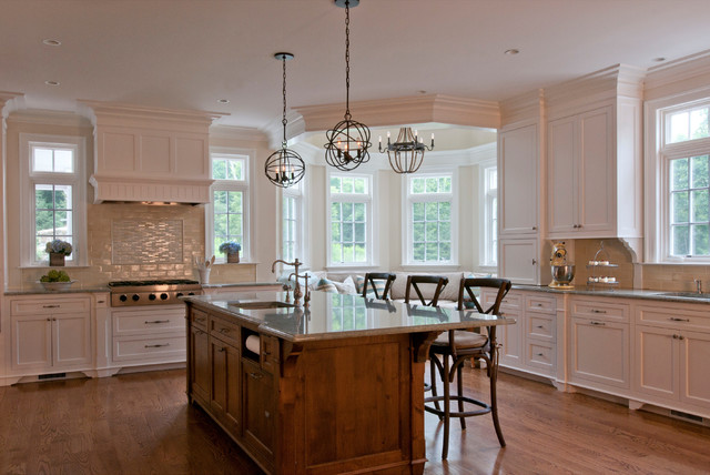 New Canaan Colonial - Renovation traditional-kitchen