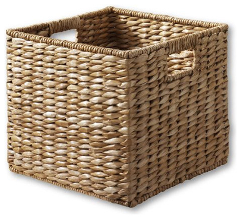 Large Grand Portage Seagrass Basket tropical-baskets