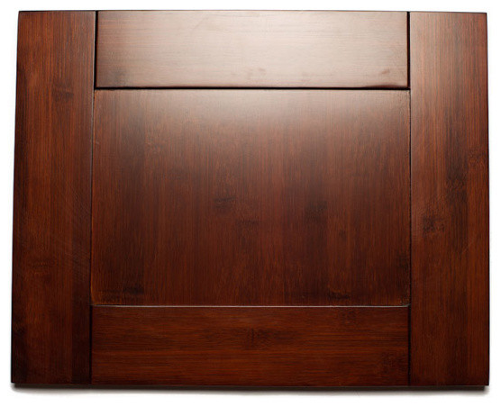 Brazilian Cherry Shaker Bamboo Kitchen Cabinets - Kitchen Cabinetry - by RTA Cabinet Store