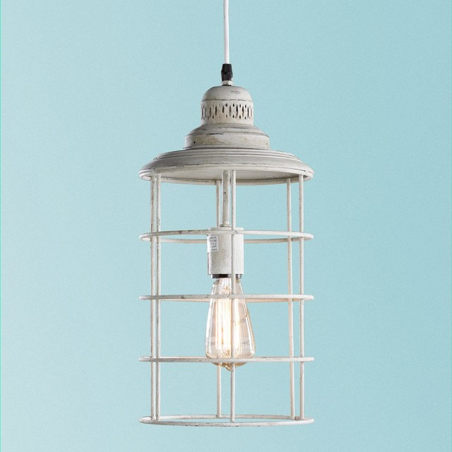 Coastal Cage Hanging Lantern Outdoor Hanging Lights By Shades Of Light