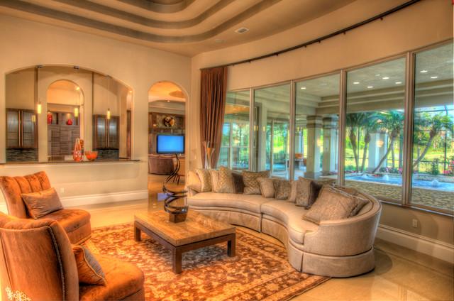 The Feri (by: Kargar Construction) mediterranean-living-room