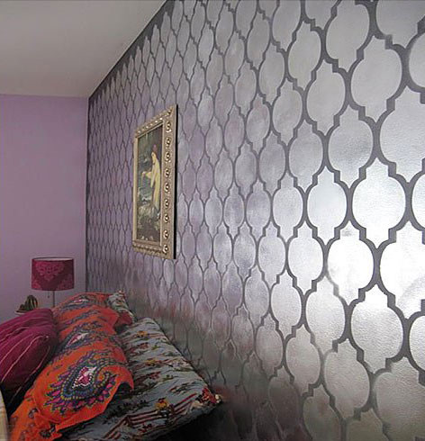 our moroccan wall stencils - photo #28