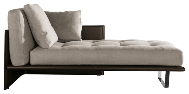 Minotti Luggage Chaise Lounge modern-day-beds-and-chaises