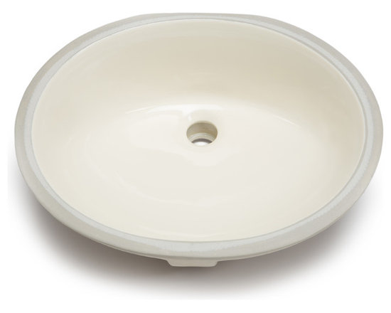 Hahn - Hahn Ceramic Bathroom Medium Oval Bowl (UM), Bisque - Hahn Ceramic bathrooms sinks are designed and chosen for their clean lines and durability. These sinks will lend an understated elegance to any style of bathroom.