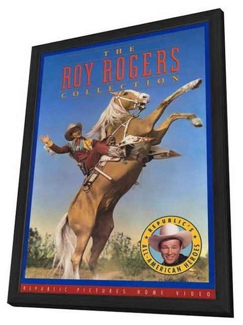 Roy Rogers Collection 27 x 40 Movie Poster - Style A - in Deluxe Wood Frame prints-and-posters