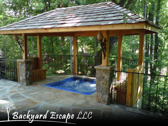 backyard escape traditional