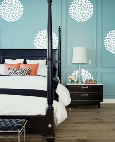 Vinyl Wall Sticker Decal Art Flowers by urbanwalls - contemporary ...