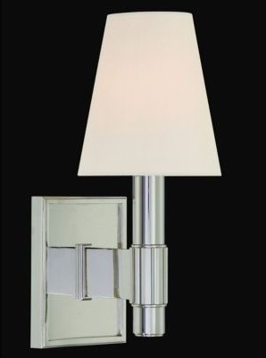 Druid Hills 1-Light Wall Sconce by Hudson Valley wall-lighting