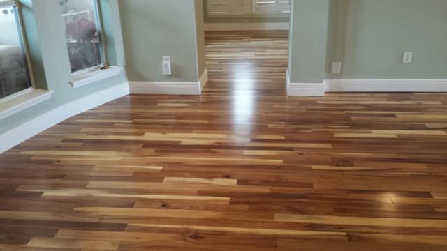 Acacia Natural Engineered Hardwood Flooring Modern
