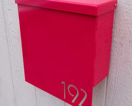 Custom House Number Mailbox No. 1310 -