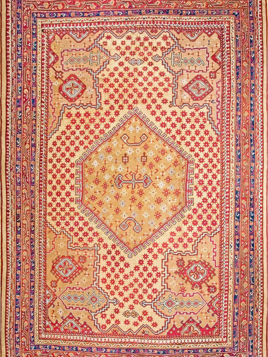 Antique Turkish Oushak Carpets - #18369