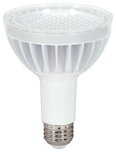 satco kolourone 14w dimmable par30 long neck led bulb. Black Bedroom Furniture Sets. Home Design Ideas