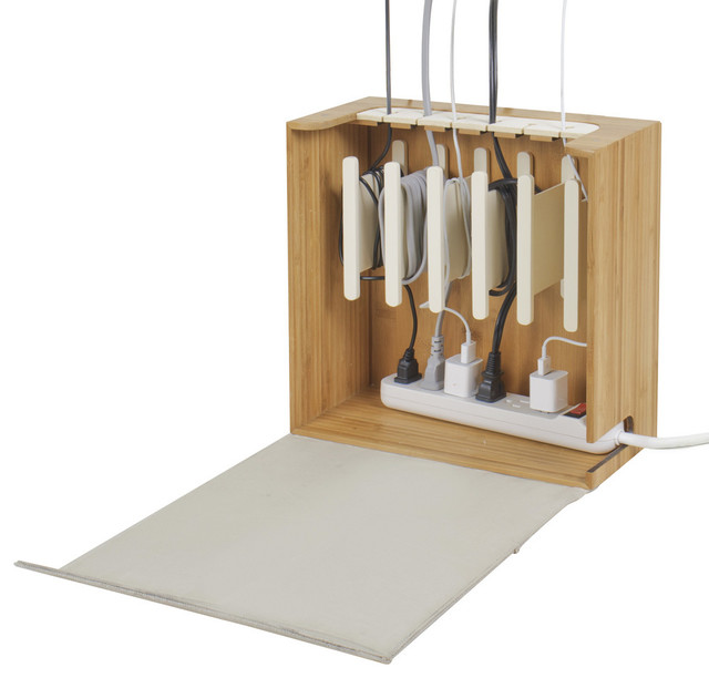Cord corral cable and cord organizer modern home for Modern home stuff