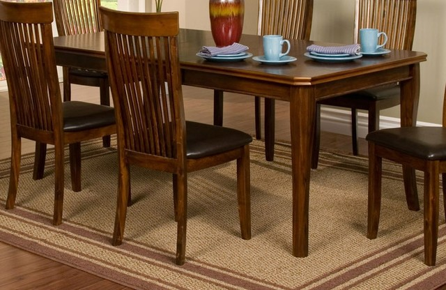 Oakdale Extension Dining Table contemporary-dining-tables