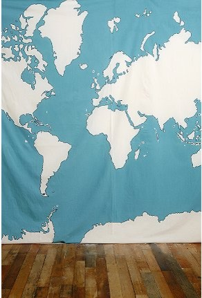 Atlas Tapestry contemporary-home-decor