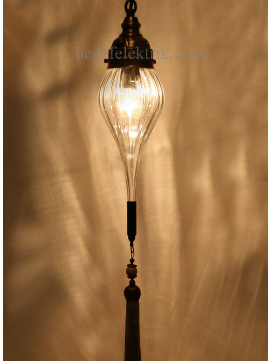 Turkish Style Blown Glass Ottoman Lighting - *Code:  HD-04159_16