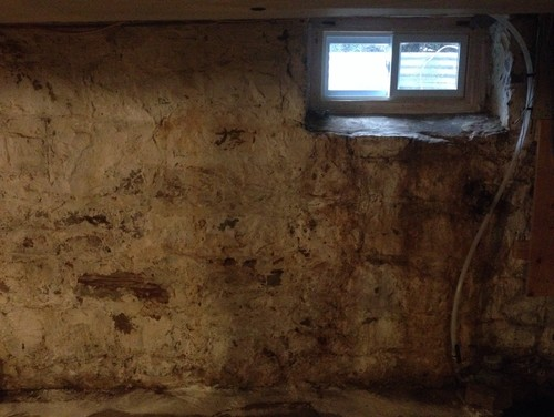 Painting My 200 Year Old Stone Basement Walls