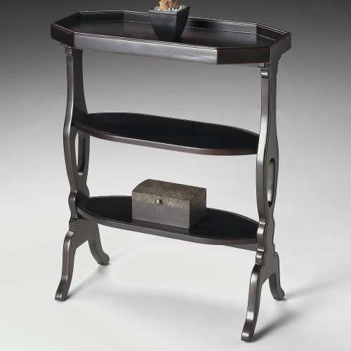 Butler Accent Table - Plum Black modern-side-tables-and-end-tables