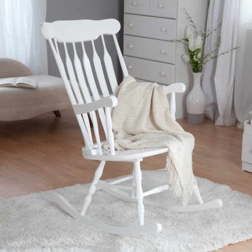 KidKraft Nursery Rocker - White - Traditional - Rocking Chairs - by ...
