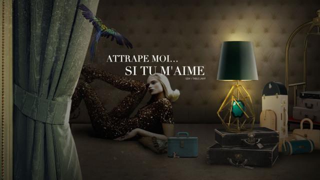 GEM | Table lamp modern