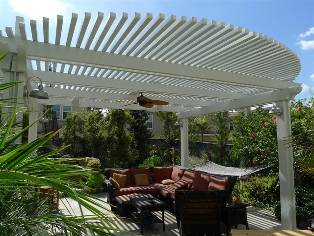Lattice Patio Covers contemporary-patio