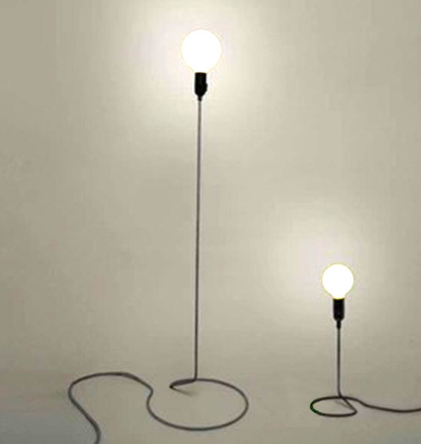 Modern Simple Cord Mini Lamp Contemporary Floor Lamps