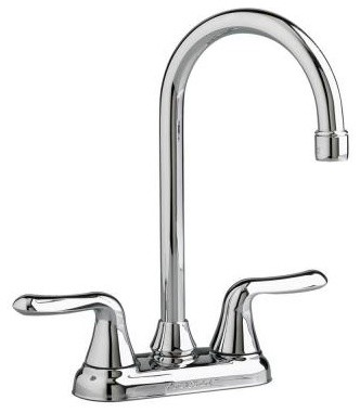 American Standard Kitchen Faucets. Colony Soft 2-Handle Bar Kitchen Faucet in Po contemporary-kitchen-faucets
