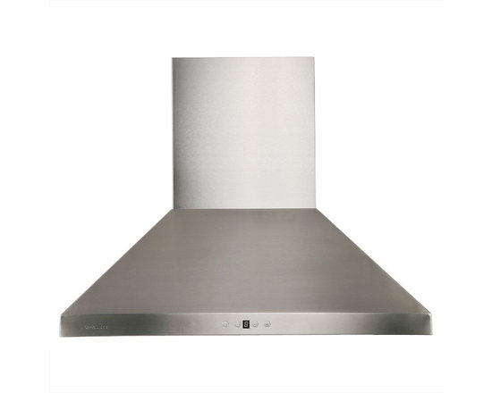 "Cavaliere - Cavaliere AP238-PSF 30"" Wall Mounted Range Hood - Cavaliere Stainless Steel 230W Wall Mounted Range Hood with 6 Speeds, Timer Function, LCD Keypad, Stainless Steel Baffle Filters, and Halogen Lights"