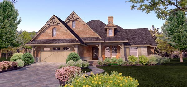 House Plan 65873 at FamilyHomePlans.com
