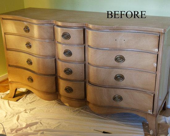 Custom Painted Furniture set for girl's bedroom - Allison Cosmos