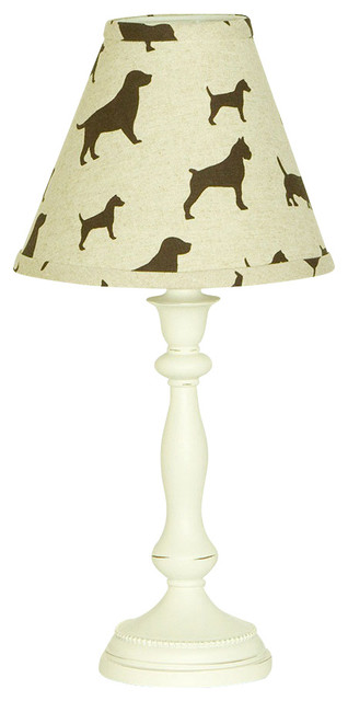 Houndstooth Std. Lamp and Shade contemporary-table-lamps
