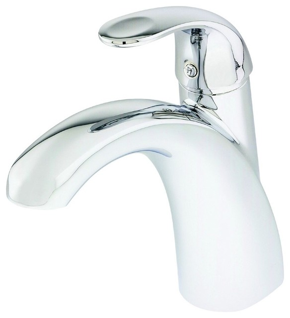Bathtub Single Handle Faucet : ... Single Handle Roman Tub Faucet in Polished Chrome traditional-bathroom