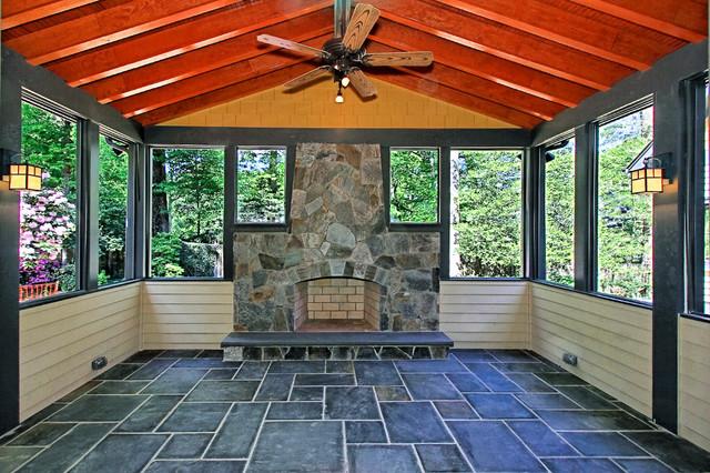 Enclosing A Porch Floor Images