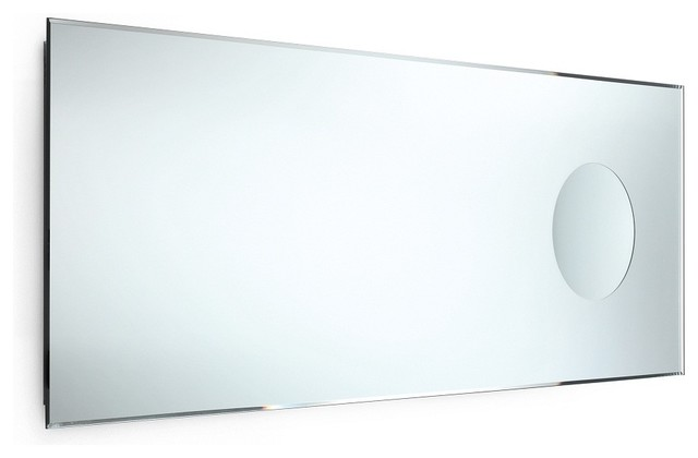 "Speci 5667 Beveled Mirror with Magnifying Mirror 43.3"" x ..."