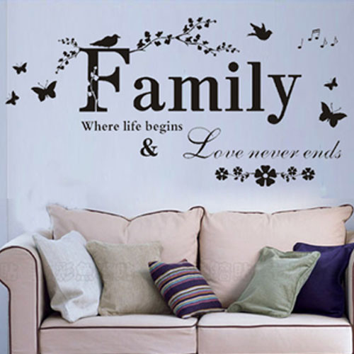 Download Family Wall Saying Family Where Life Begins & Love Never ...