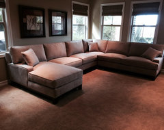 MEDIA ROOM SECTIONALS contemporary-home-theater