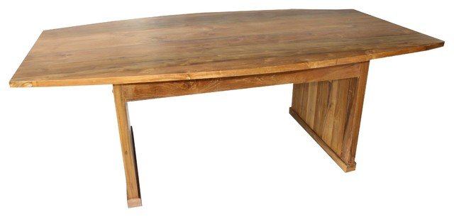 Eastwood Dining Table Solid Reclaimed Teak Wood Modern