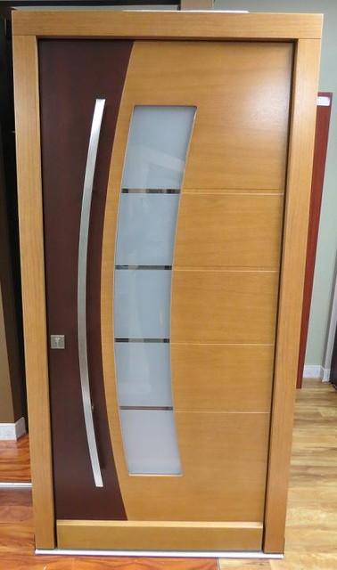 Modern Exterior Door Model 004 In Stock Contemporary