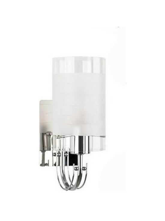 Modern Depolished Glass Wall Sconce - Modern Depolished  Glass Wall Sconce