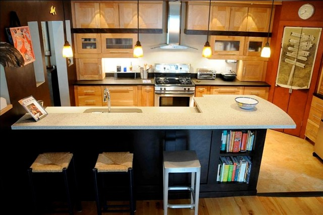 Lewis Creek Company South End contemporary-kitchen