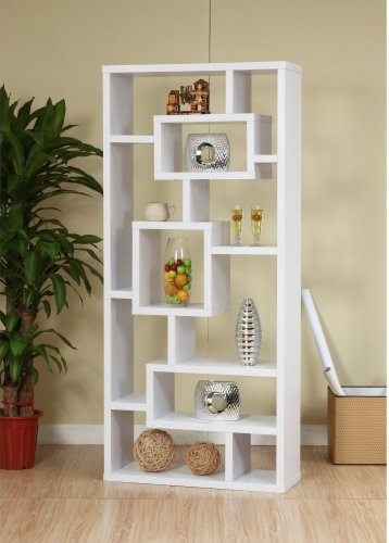 Refresh your reads with the Enitial Lab Unique Wood Bookcase/ Display Cabinet - - Contemporary ...