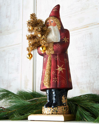 Ino Schaller Red Coat Santa traditional-holiday-decorations