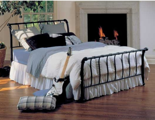 Janis Sleigh Bed modern-beds