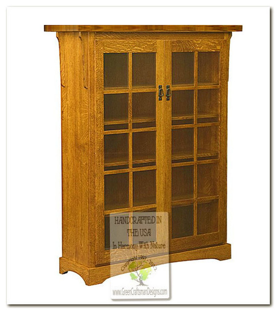 Mission Bookcases craftsman-bookcases