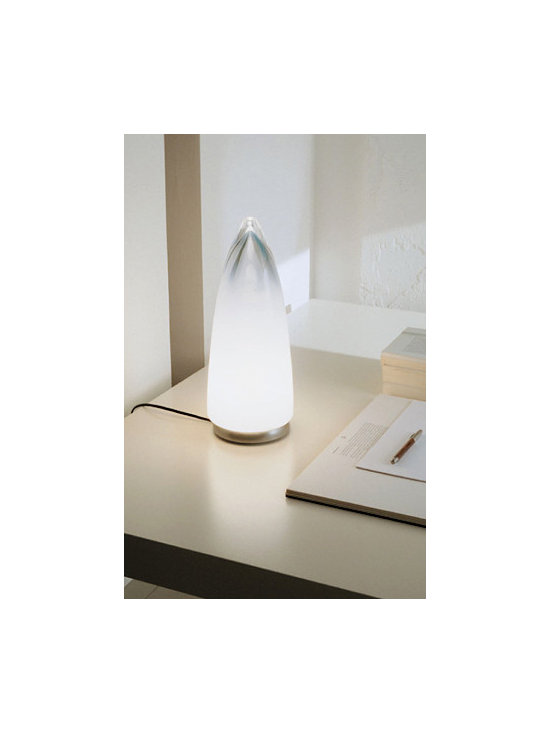 Goccia T Table Lamp By Leucos Lighting - From Leucos the Goccia series is a modern contemporary lamp.