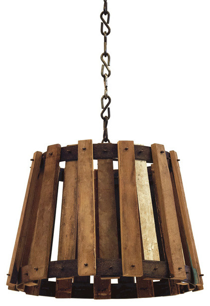 Urban Farmhouse Crate Light Farmhouse Pendant Lighting by Indeed Decor